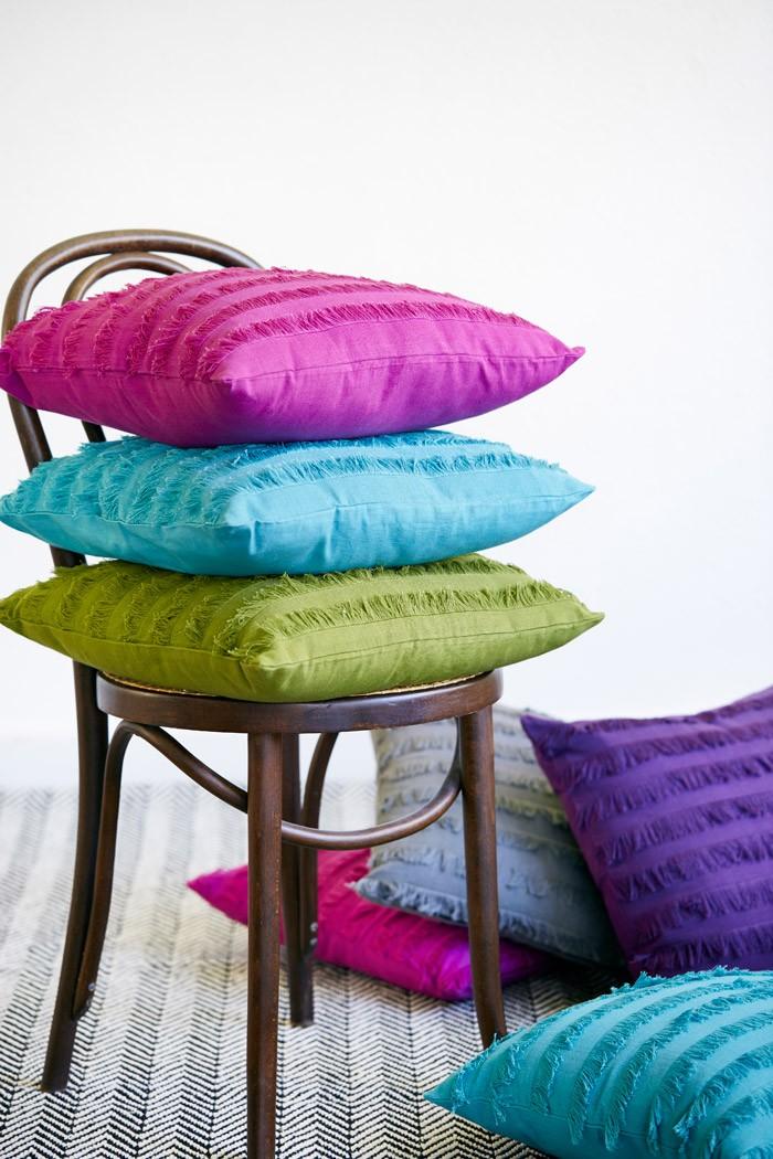 Var inte rädd att blanda flera olika färger!