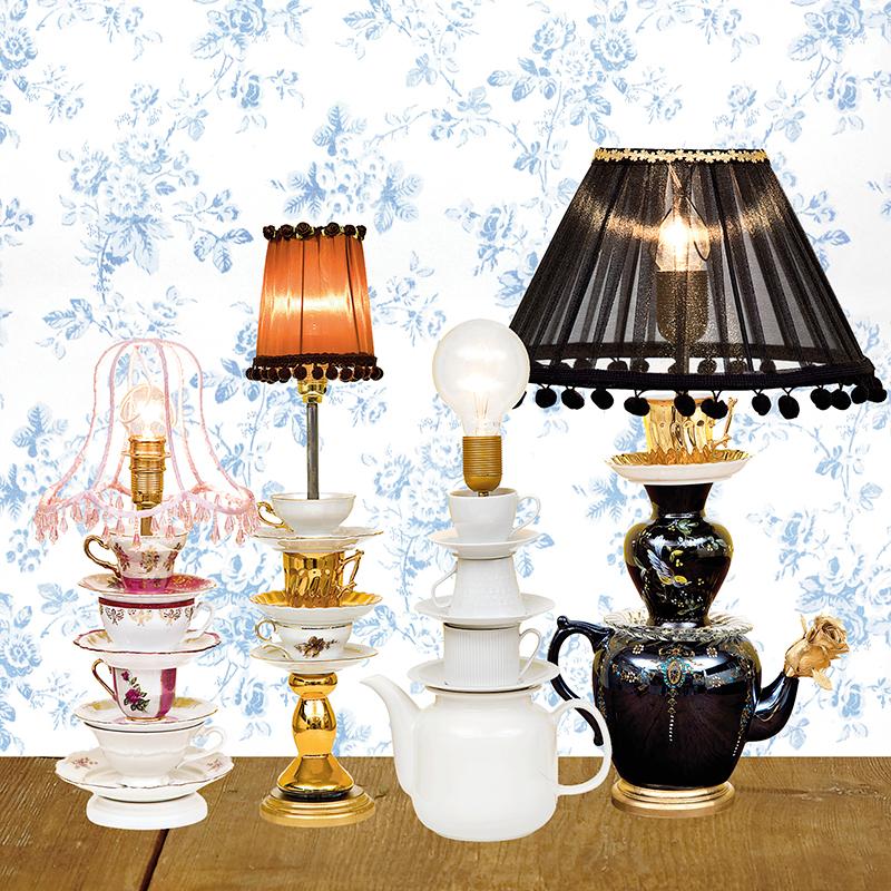 328cb1ee Gör en lampa av udda koppar | Drömhem & Trädgård