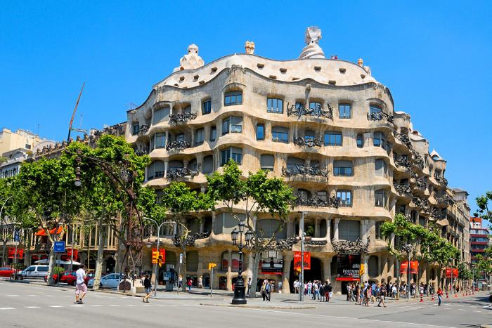 Barcelona är känt för sin arkitektur. Foto: Nito/Shutterstock.com