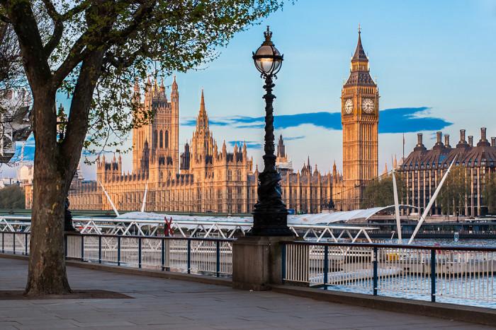 Soluppgång i London. Foto: Shutterstock