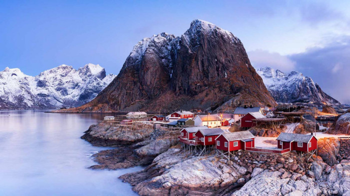 vinter-Hamnoy-Norway