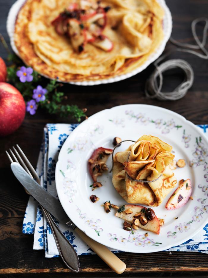Goda pannkakor med vaniljsocker