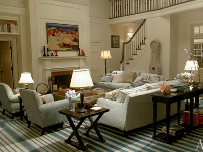 Vardagsrummet i Galen i kärlek.
