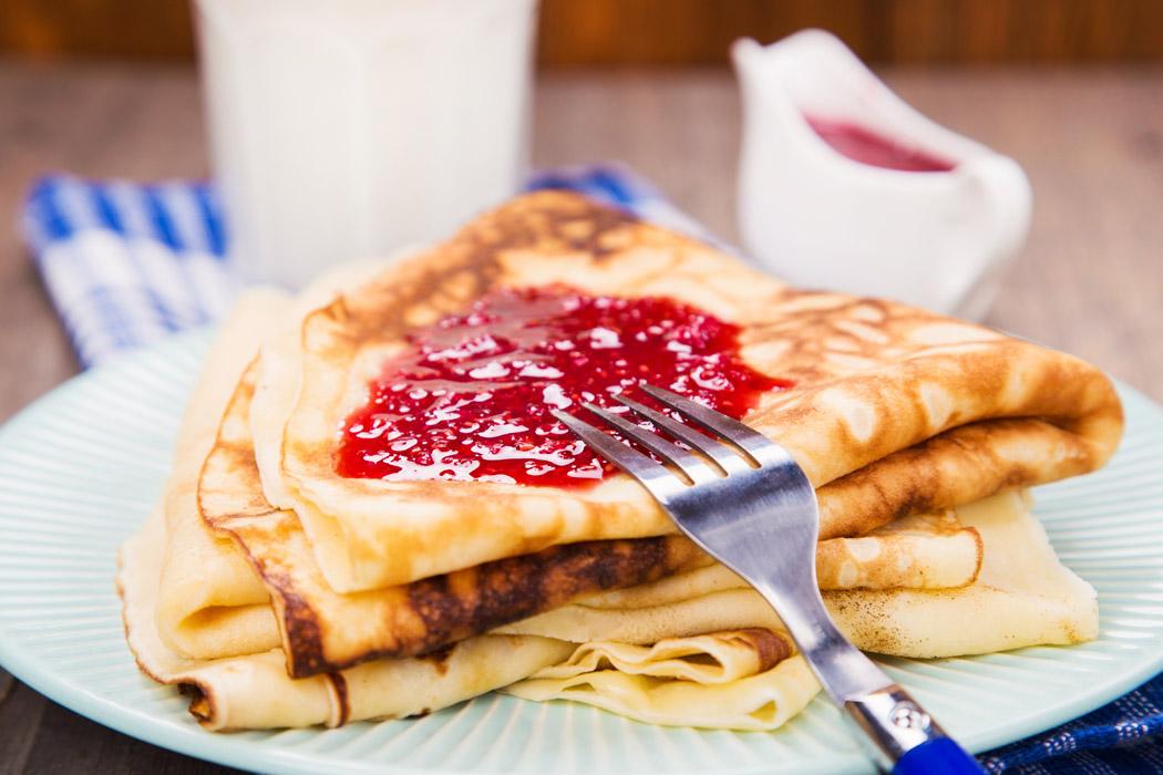 klassiska svenska pannkakor