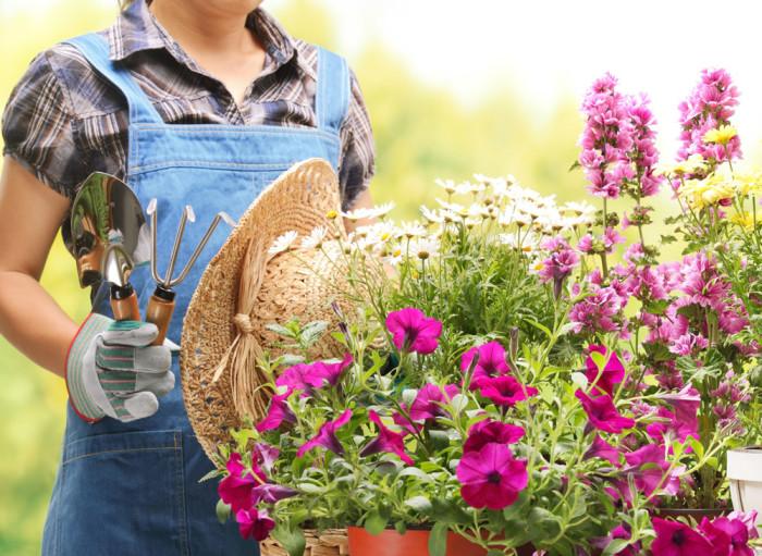 Trädgårdsarbete är lika bra som att träna! Foto: Shutterstock
