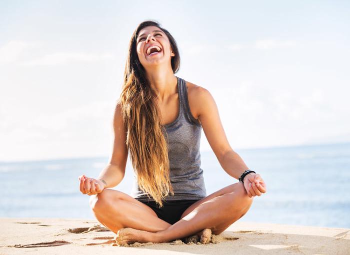 Yoga har många hälsofördelar. Foto: Shutterstock