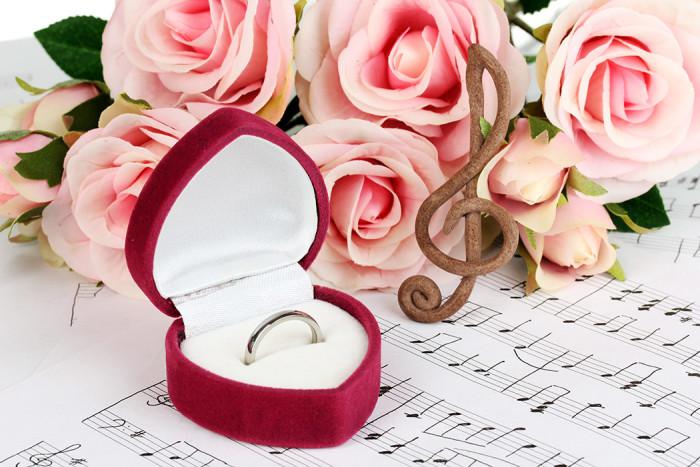 Musiken är viktig för många på bröllop. Foto: Shutterstock