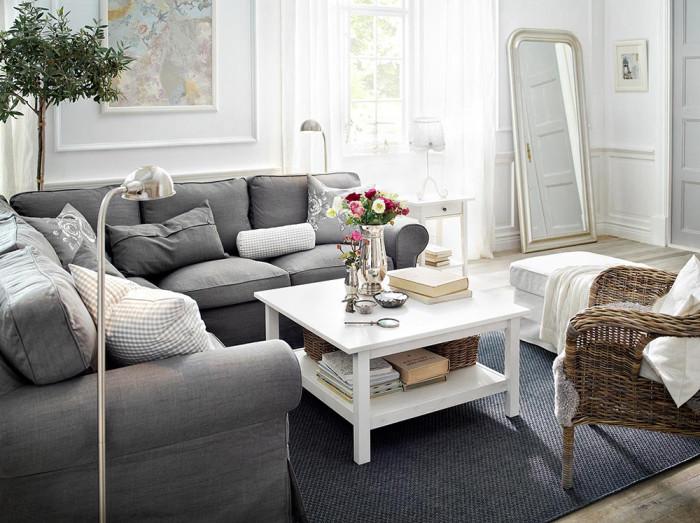 Lagom ombonat vardagsrum. Foto: Ikea