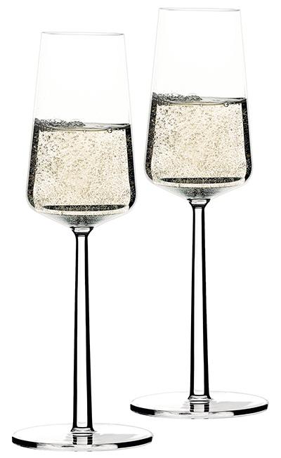 Champagneglas-smal