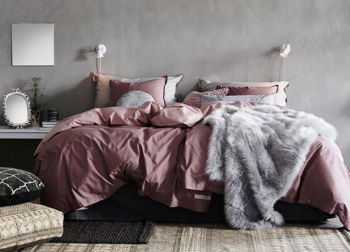 Sängkläder och pläd från Jotex, hösten 2016.