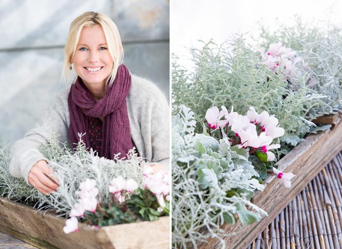 Victoria Skoglund. Foto: Lena Granefelt/Blomsterfrämjandet