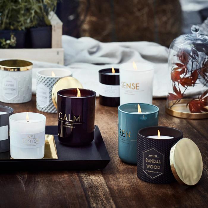 Doftljus ger myskänsla! Foto: H&M Home
