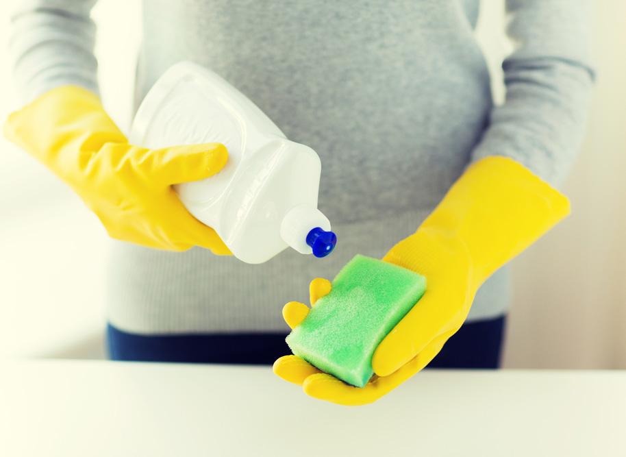 rengöra med diskmedel