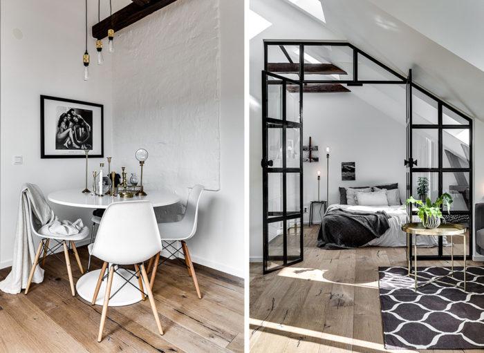 inred små ytor med compact living