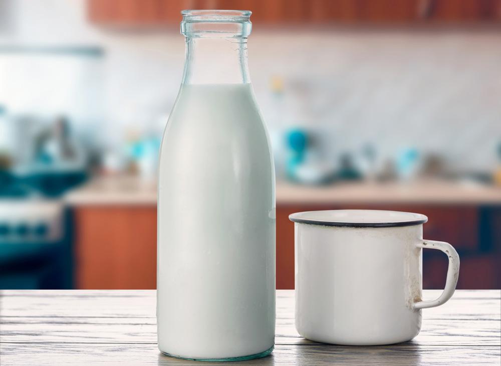 Ta bort fläckar med mjölk