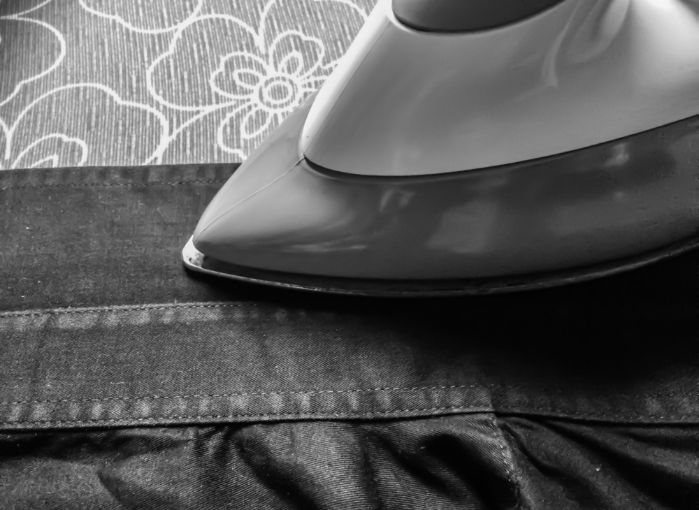 tips för att stryka skjortkrage