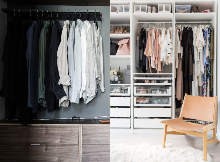 Smarta förvaringstips för garderoben   Drömhem & Trädgård