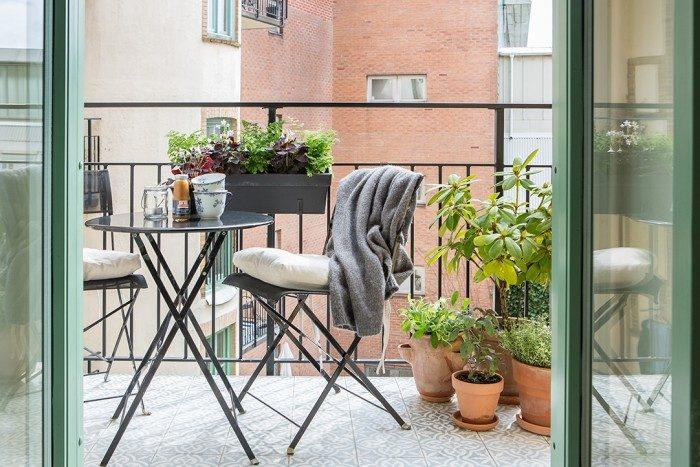 Enormt 6 compact living-tips för en liten balkong | Drömhem & Trädgård NB-35