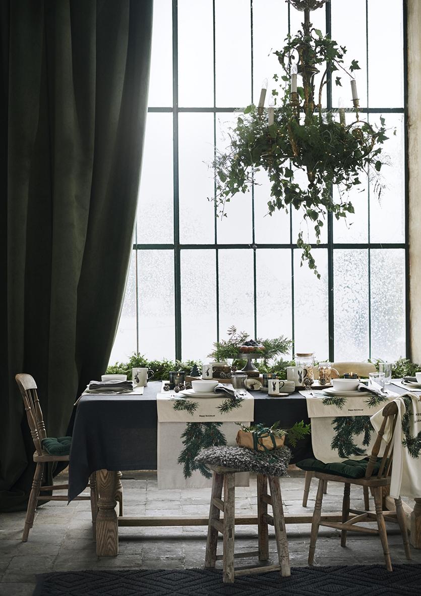 Julen på H&M Home går i grönt, rött och guld | Jul hemma
