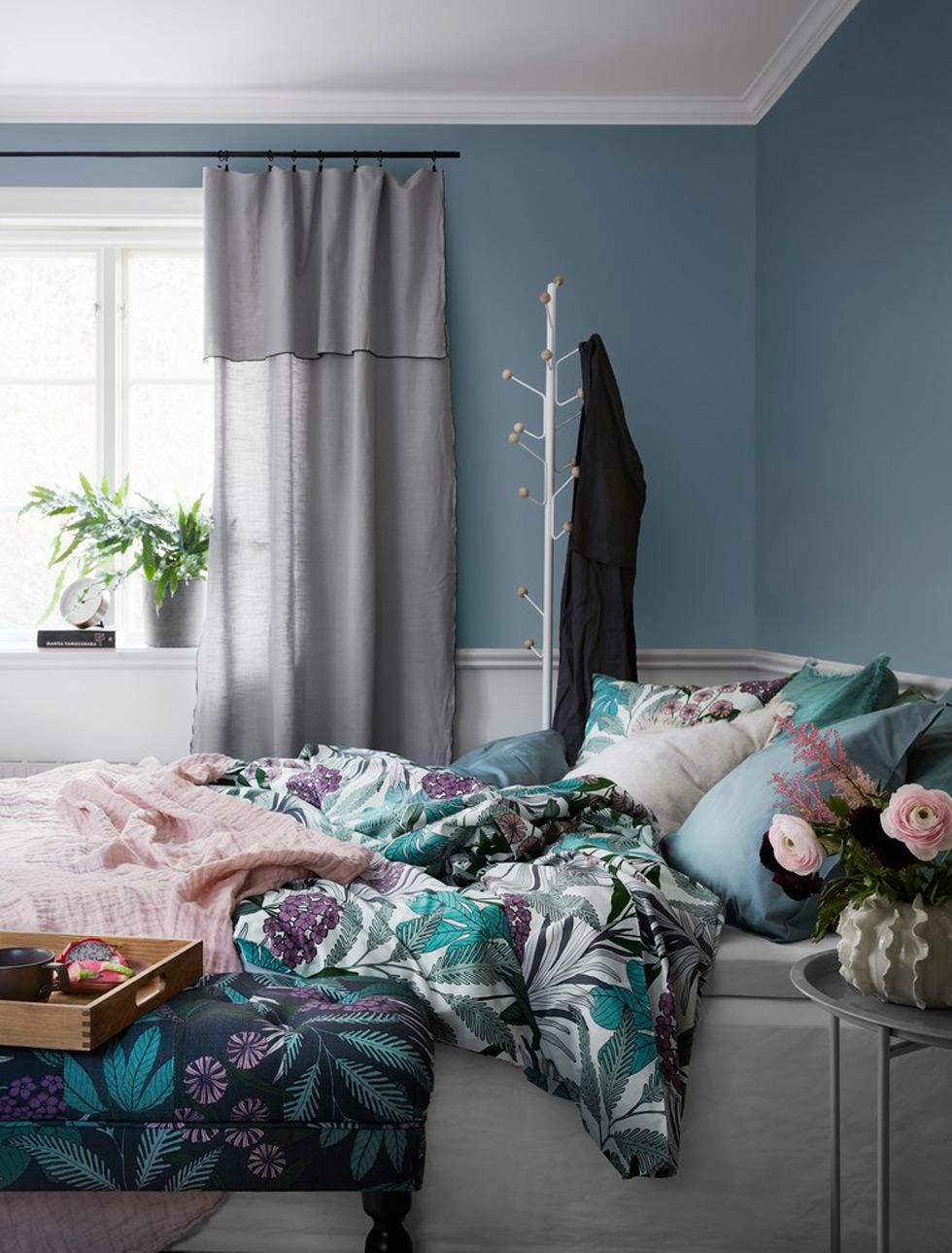 Sängkläder av Abigail Borg för Åhléns.